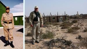 Hilari a les restes de la primera cia del BIR