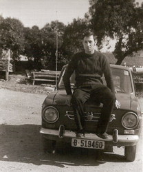 Andrés pocos días antes de ir a la mili en el Sahara