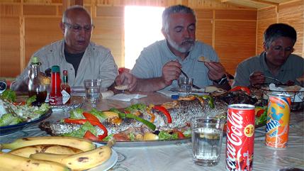 Comida en pk 25