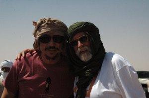 Ernest con Carlos Bardem