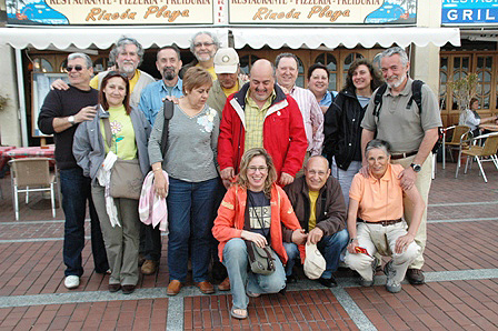 La primera foto del grup