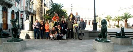 Grupo expedicionario al completo