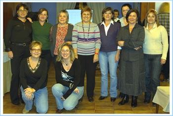Foto del grup de les dones