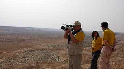 Filmando en la Sagia