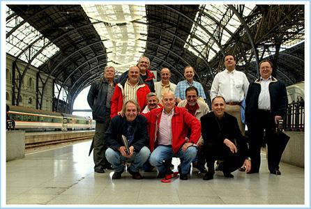 Trobada a la estació de França de Barcelona del 24 de maig del 2008